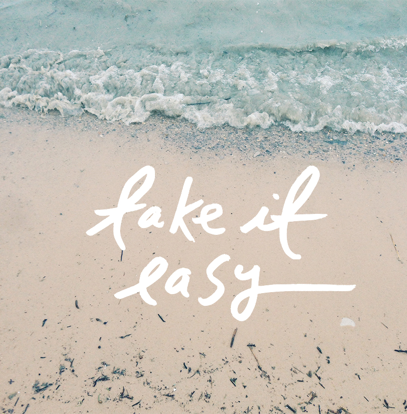 Take It Easy  |  The Fresh Exchange