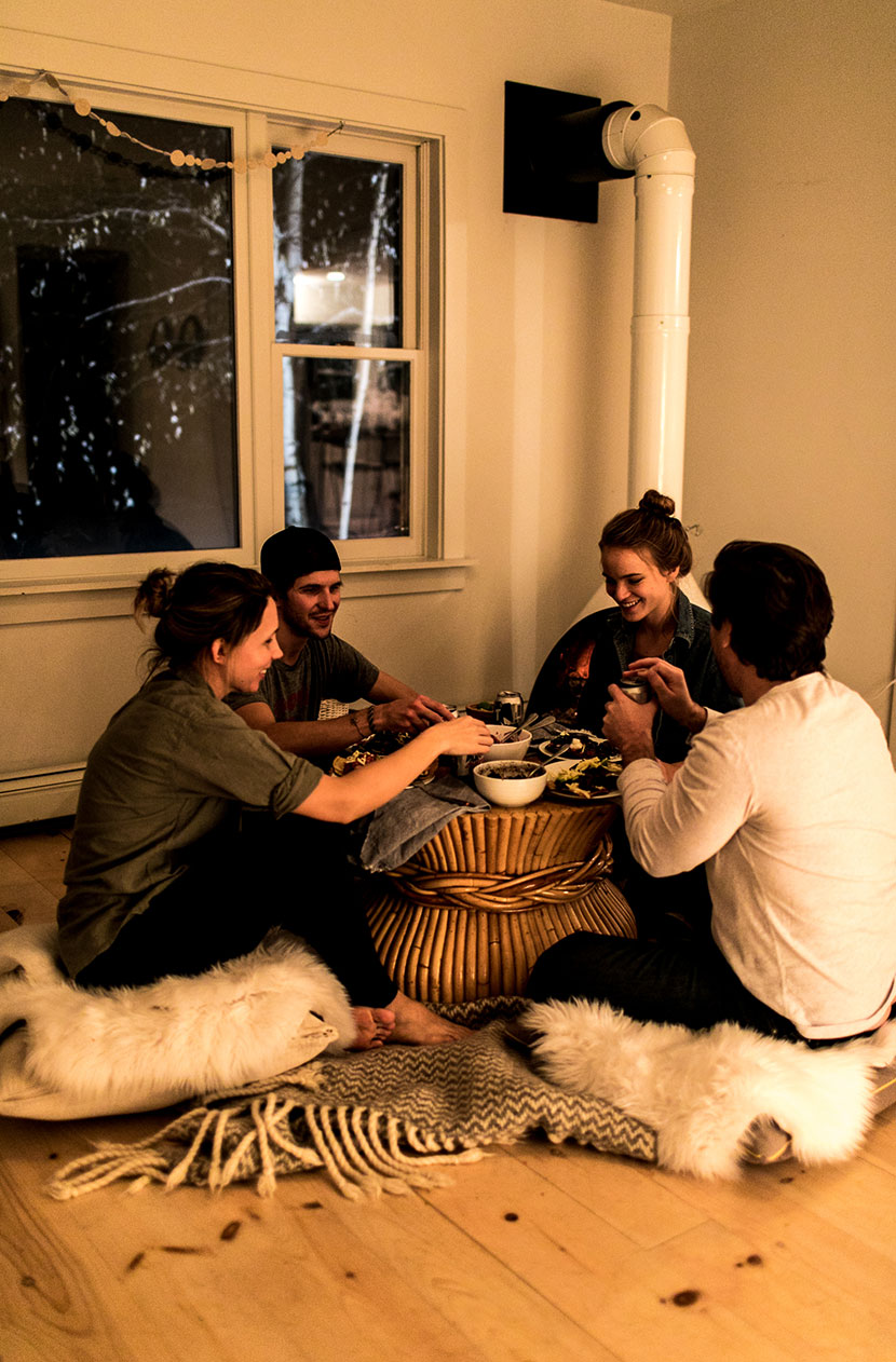 A winter's Night in with friends, a fire, tacos, and Tecate Light. Read more on The Fresh Exchange.
