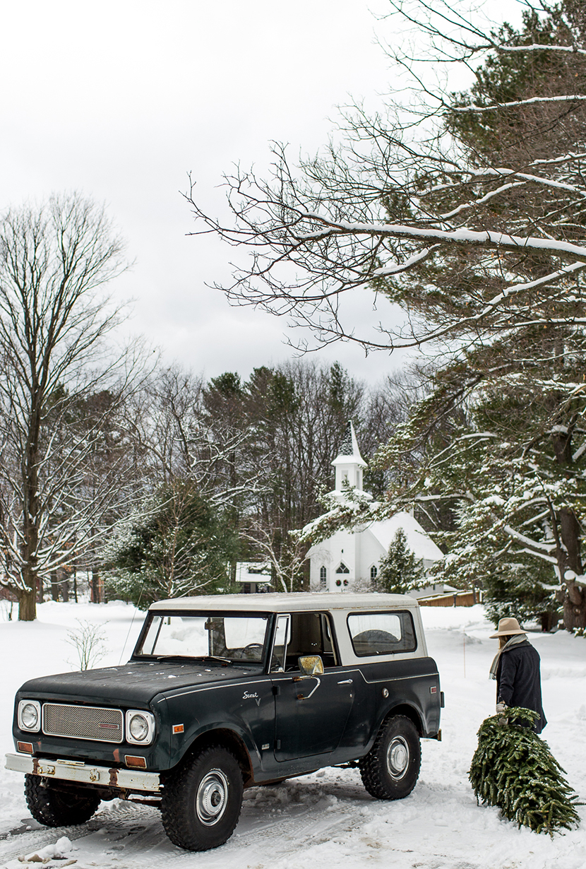 We found our dream car that we have saved for over the years so we could buy it when we found just the right one. We talking about this today on the blog with Esurance about how we added our International Scout into our lives. Read more on The Fresh Exchange