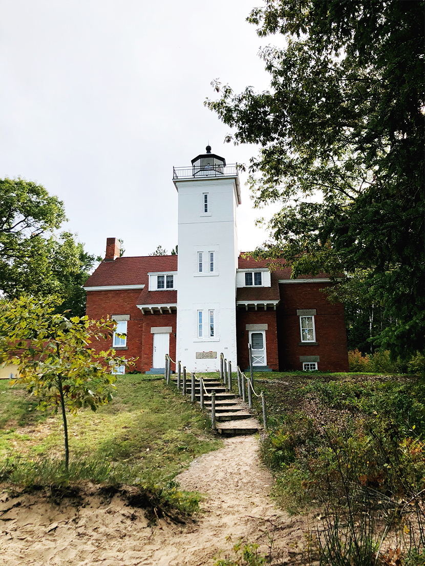 A Guide for a Fall Roadtrip in Northenr Michigan and the Upper Peninsula. See some of the most historical sites of Northern Michigan with the State Historic Preservation Office.