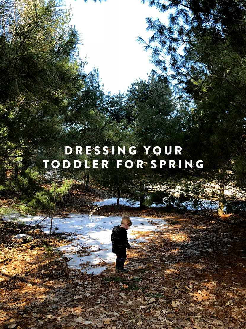 How Dress Your Toddler for Spring. Get the full thing on The Fresh Exchange.