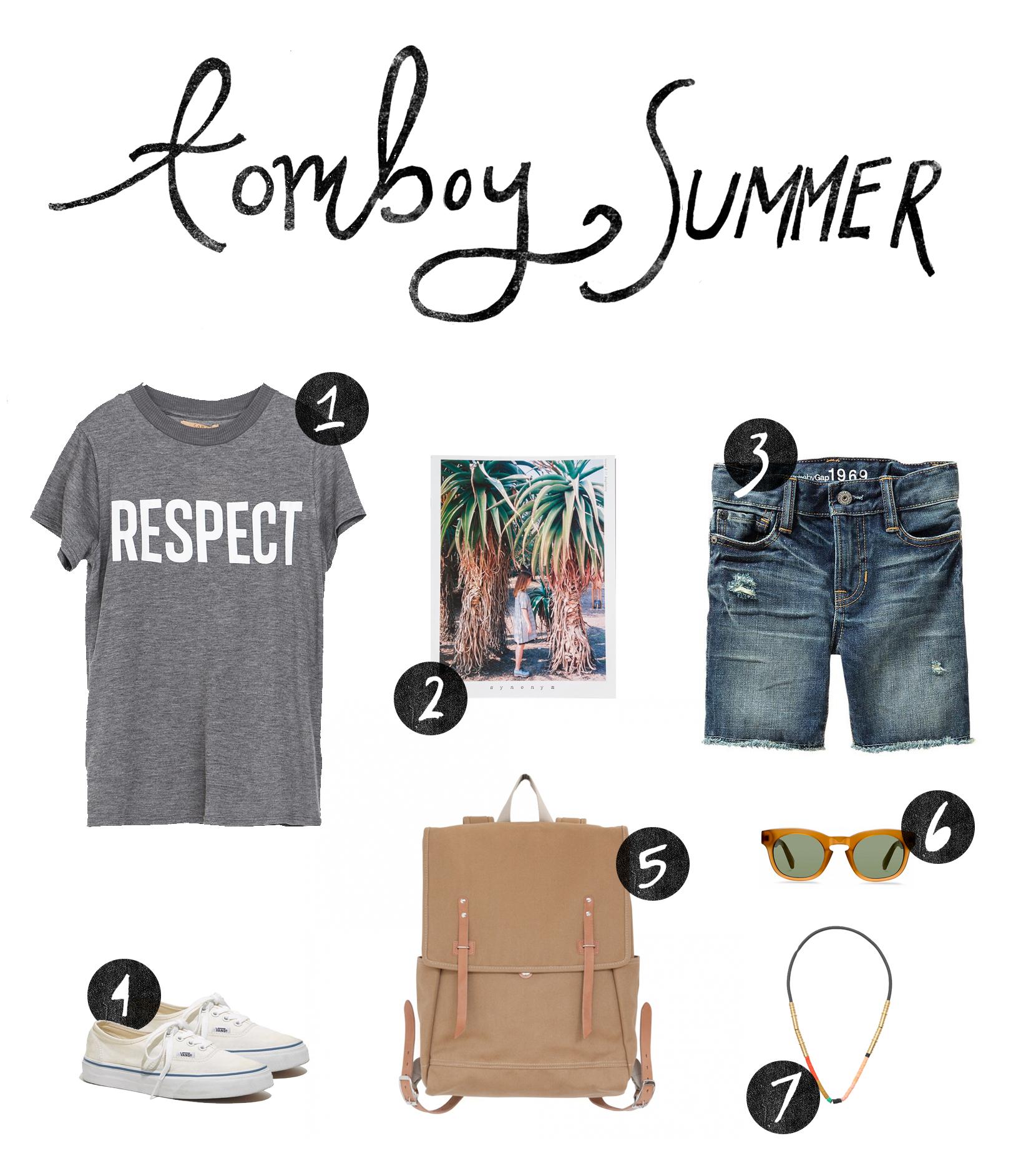 Tomboy Summer Style | The Fresh Exchange