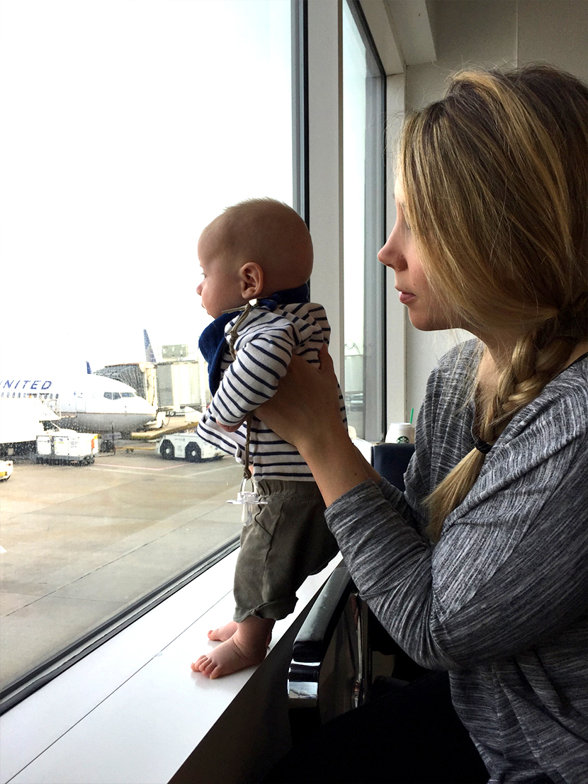 Our Tips for Traveling with a baby under 6 months | The Fresh Exchange