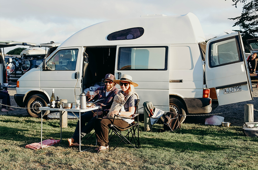 Traveling in New Zealand in a van with a baby. How an off season adventure created one wild and beautiful adventure living out of a van. Read this contributing post from Anelise Salvo on The Fresh Exchange.