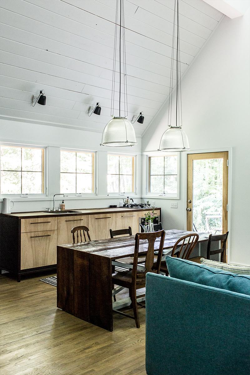 Michigan Home Tour - The Wayfarer Treehouse | The Fresh Exchange | Modern Black Farmhouse