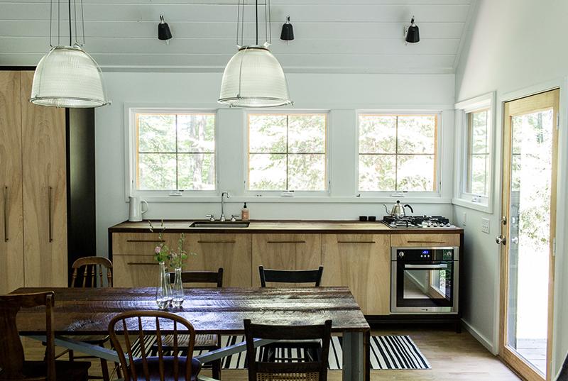 Michigan Home Tour - The Wayfarer Treehouse   The Fresh Exchange   Modern Black Farmhouse