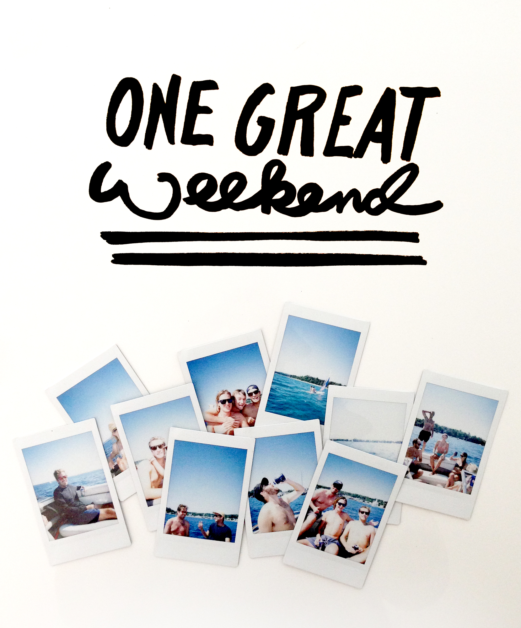 One Great Weekend  |  The Fresh Exchange