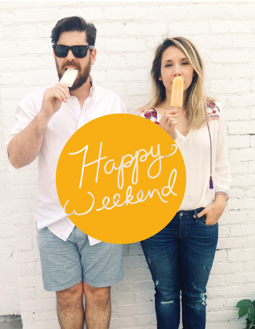 Happy Weekend  |  The Fresh Exchange