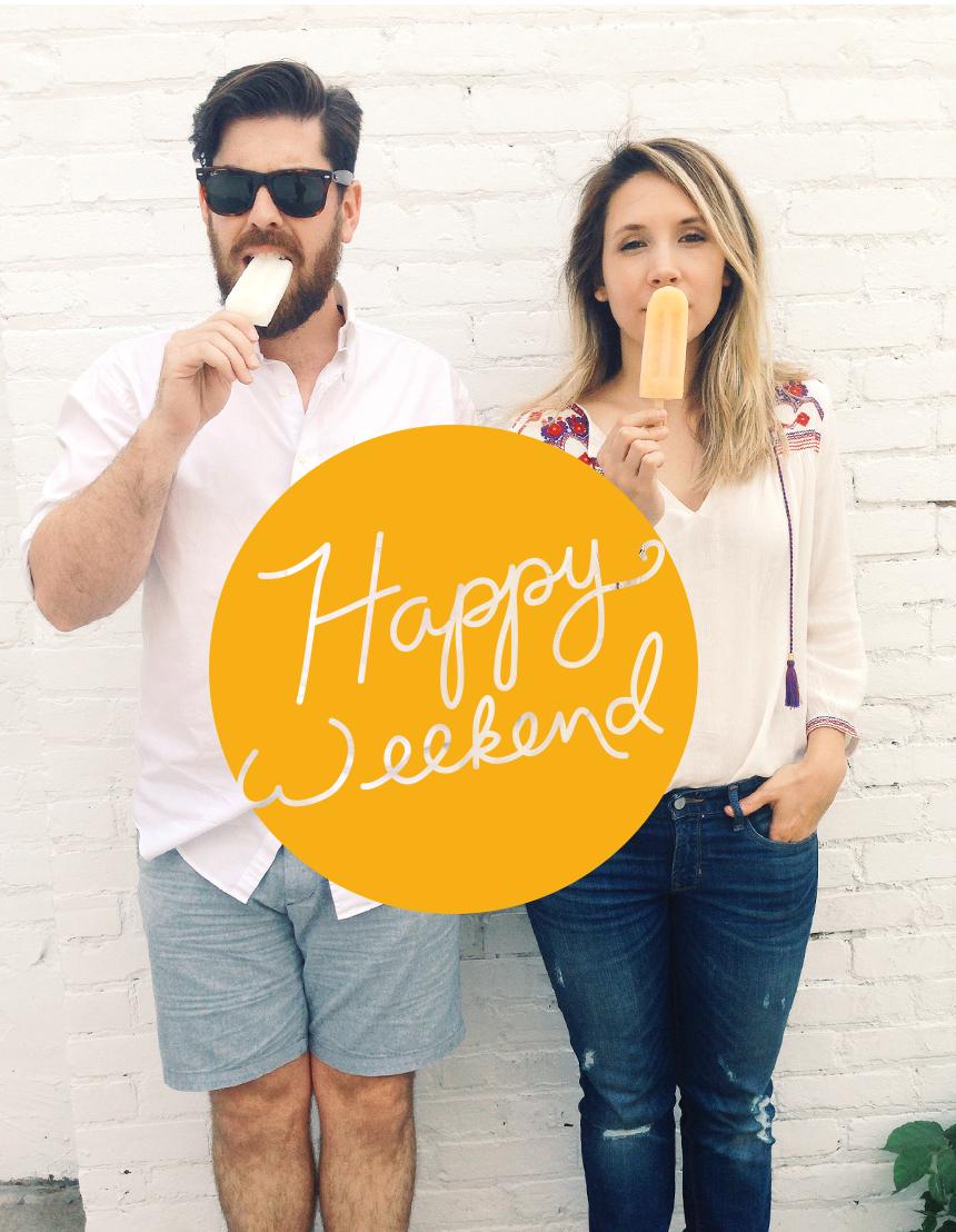 Happy Weekend  |  The Fresh Exchange