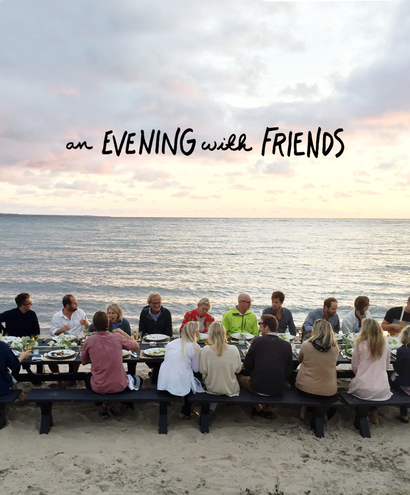 Weekend Goals: An Evening with Friends  |  The Fresh Exchange