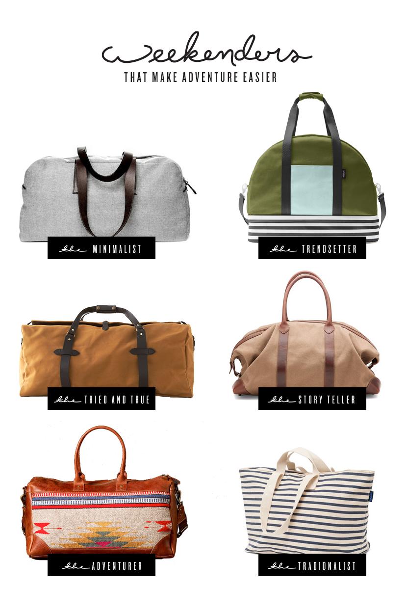 6 Weekender Bags that Make Adventure Easier  |  The Fresh Exchange