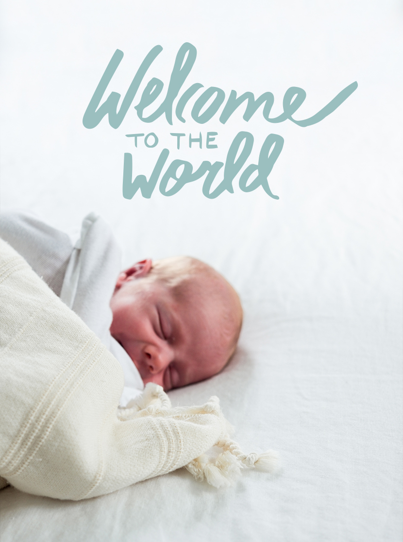 Welcome to the World little one | The Fresh Exchange