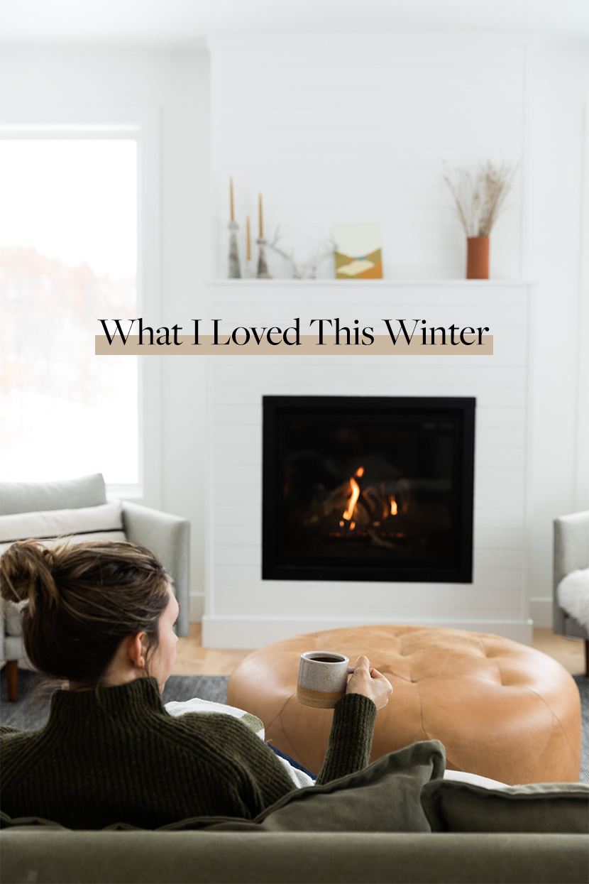 The items that helped me love winter this year.