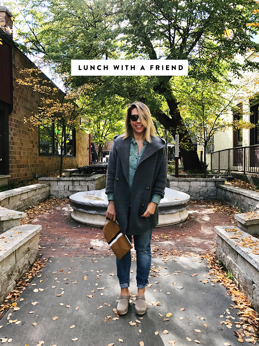 What I Wore This Week is a collection of warm and cozy fall items as a working mom | The Fresh Exchange