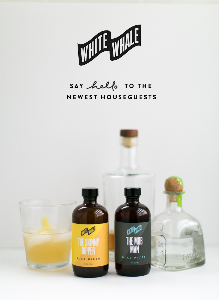 White Whale Bold Mixers: The New Flavors  |  The Fresh Exchange