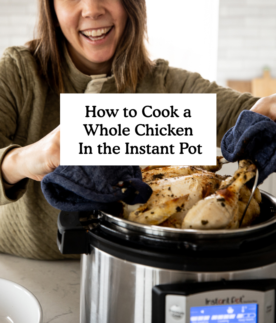How to cook a Whole Chicken in the Instant Pot Either Frozen or Thawed. Whole Chicken Instant Pot Recipe