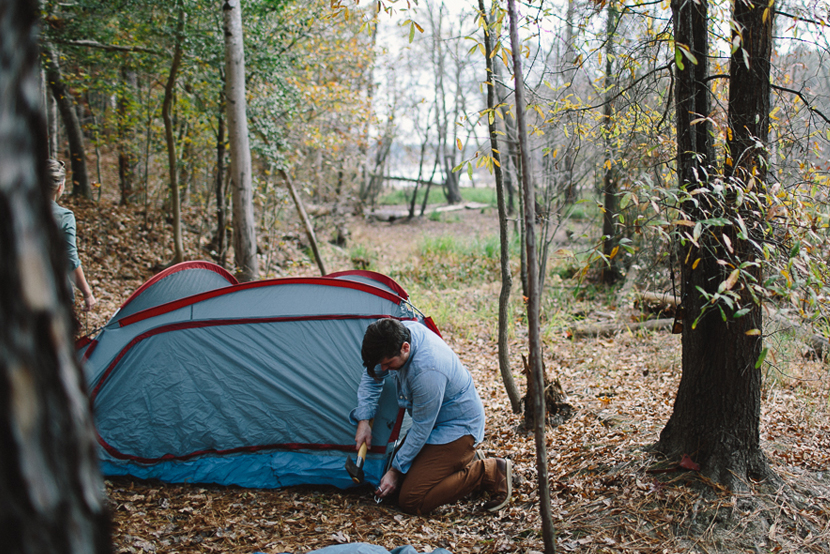 Wild Weekend: Camping at Falls Lake | The Fresh Exchange
