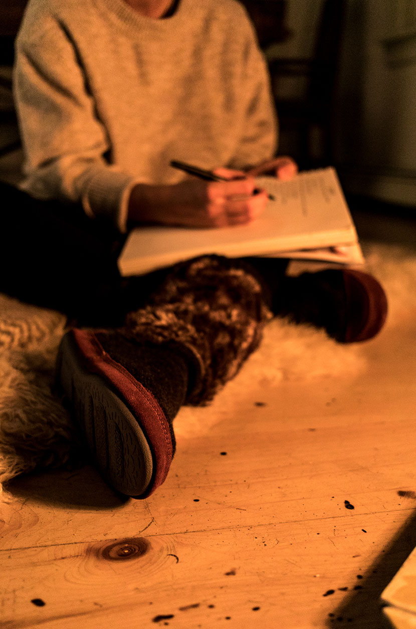 How to cure the winter blues in three simple steps. In partnership with Acorn Footwear.