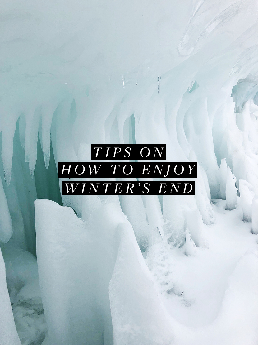 How to enjoy the end of winter and make it to spring. Read more on The Fresh Exchange