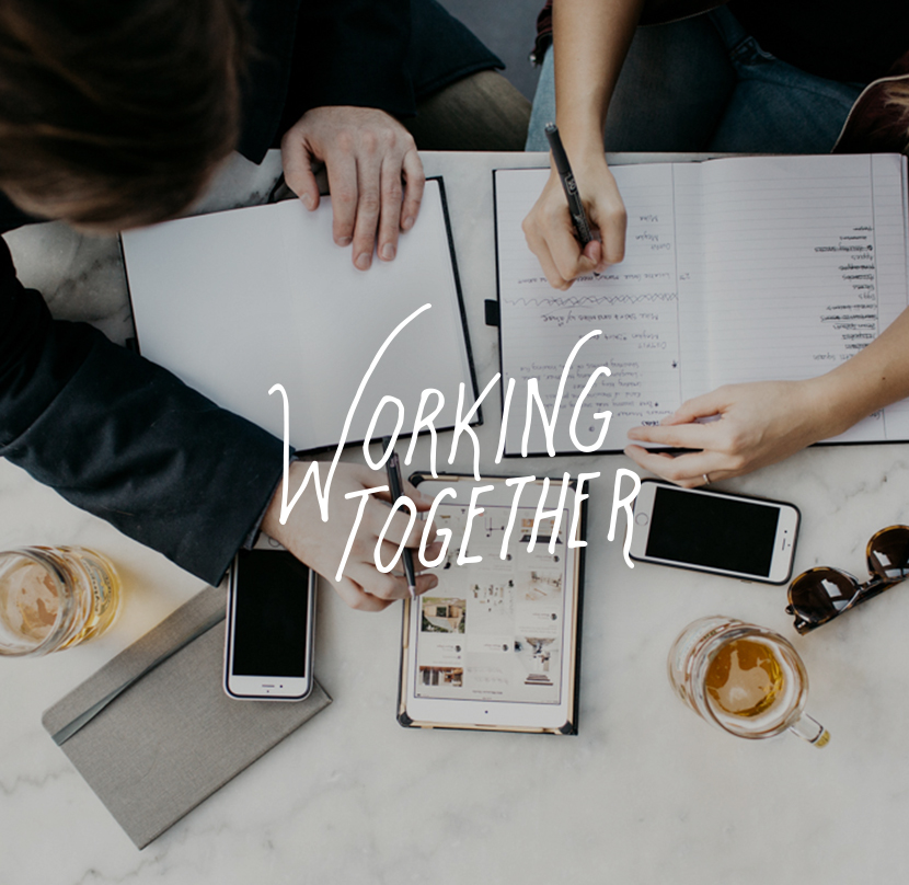 Working Together | The Fresh Exchange