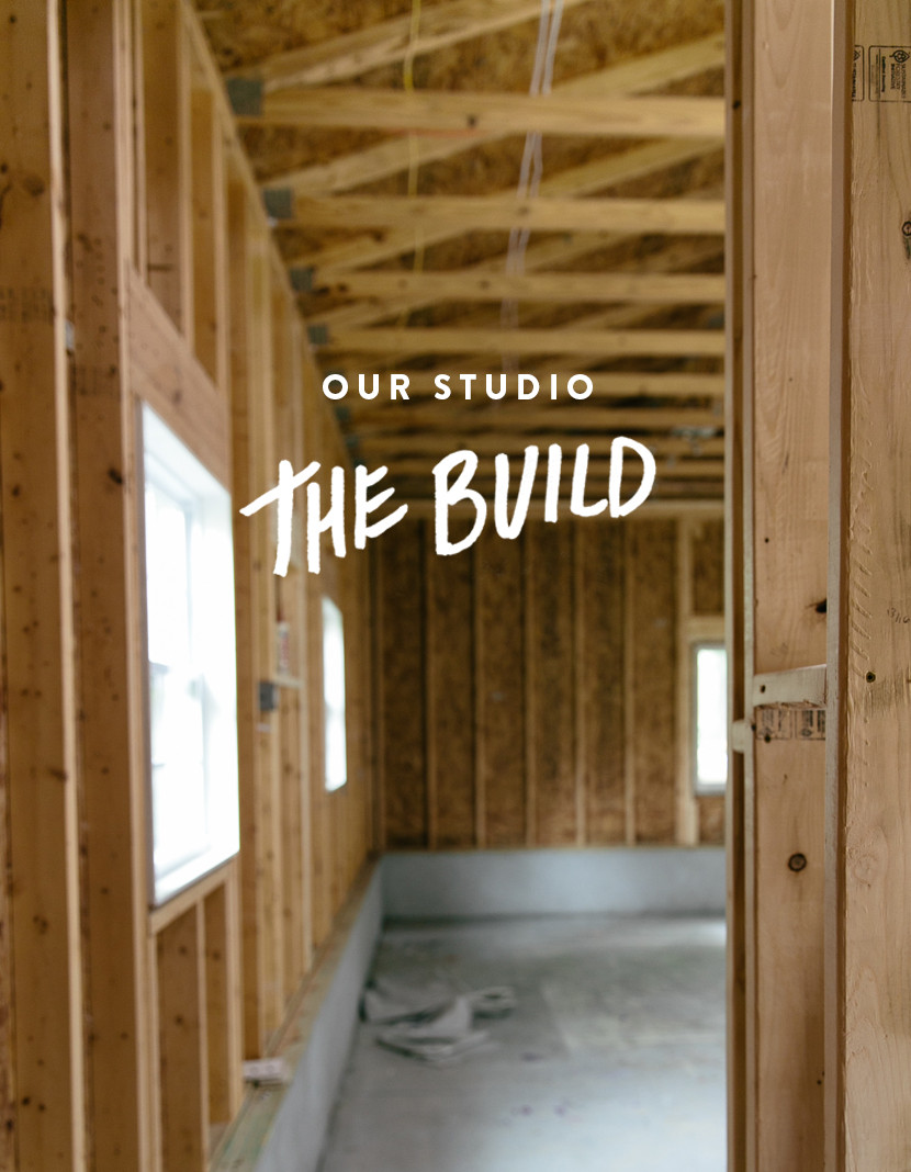 Building Our Studio  |  The Fresh Exchange