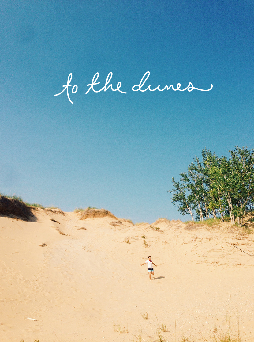 To the Dunes  |  The Fresh Exchange
