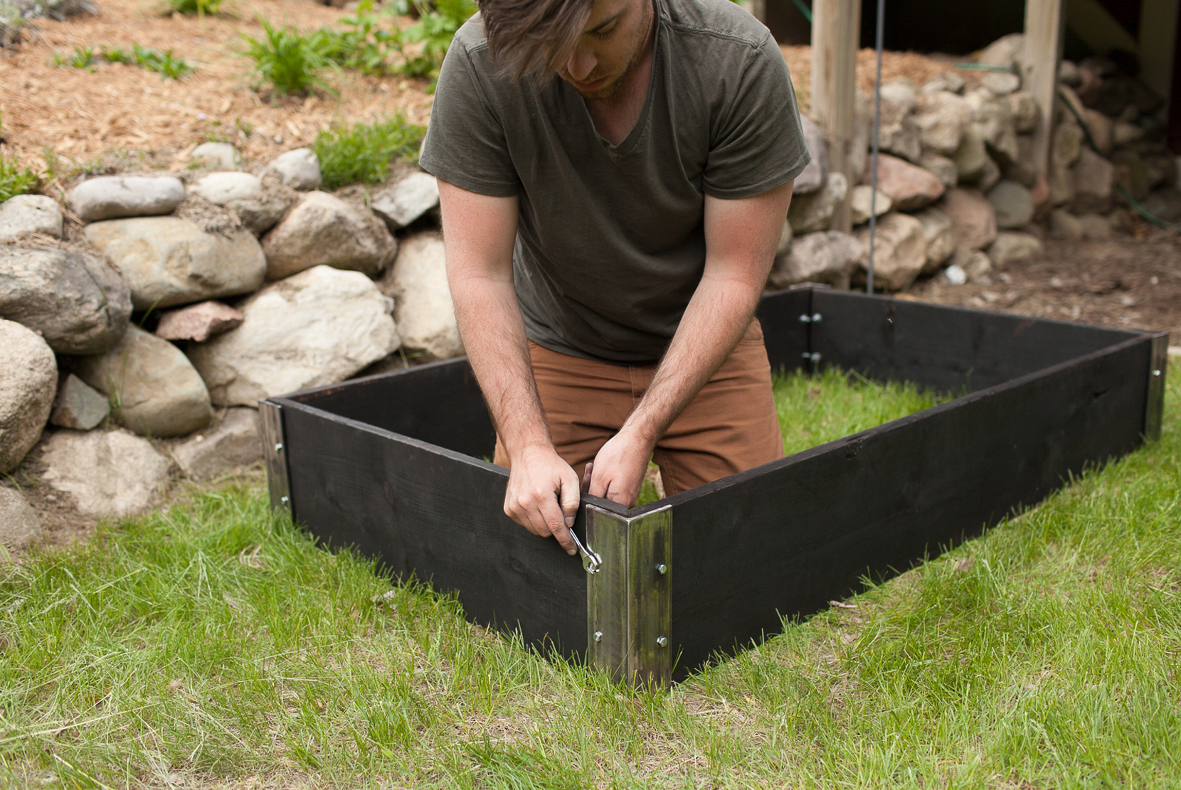 Raised Bed Garden | Garden DIY | The Fresh Exchange
