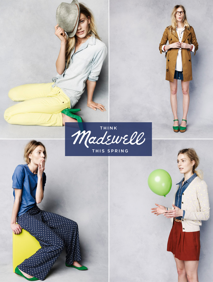 Madewell, Spring Fashion