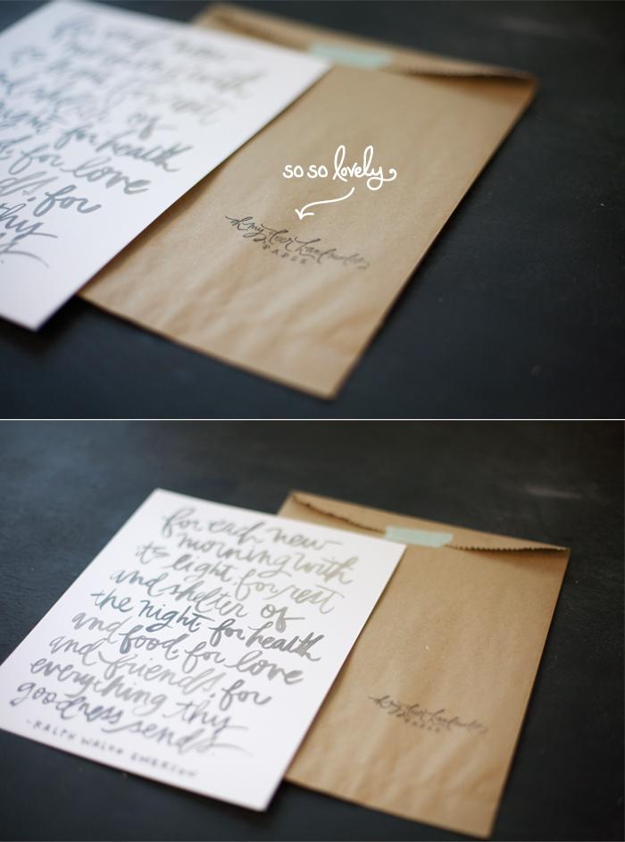 oh my deer handmades, chelsea petaja, tec petaja, hand lettering, nashville,
