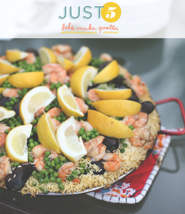 Paella, Recipe, Simple, Over Fire, Party, Entertaining