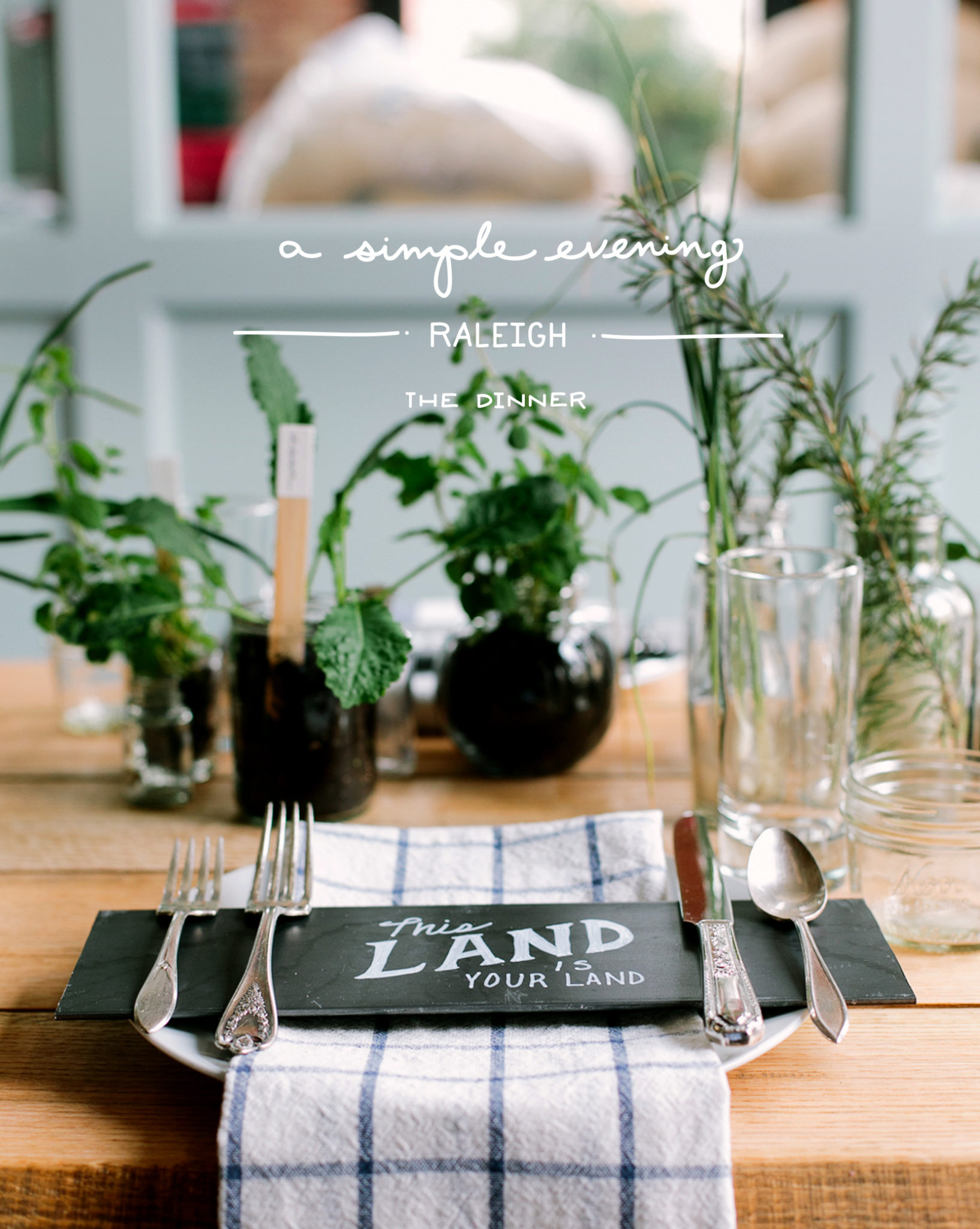 Simple Evening - Raleigh: The Dinner | The Fresh Exchange