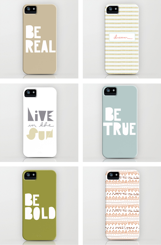Society 6 Cases from Megan Gilger  |  The Fresh Exchange