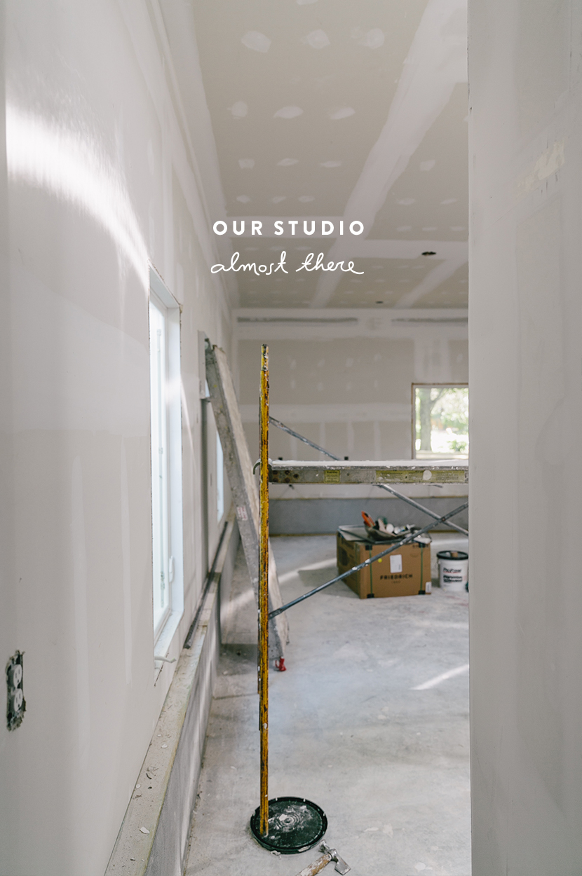 Our Studio: Almost There  |  The Fresh Exchange