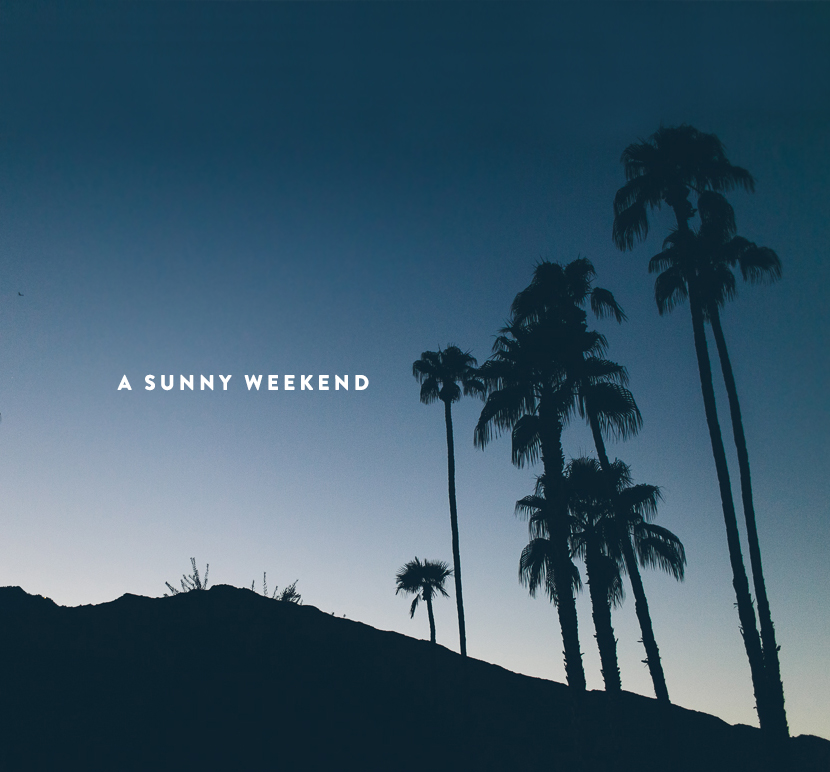 A Sunny Weekend  |  The Fresh Exchange