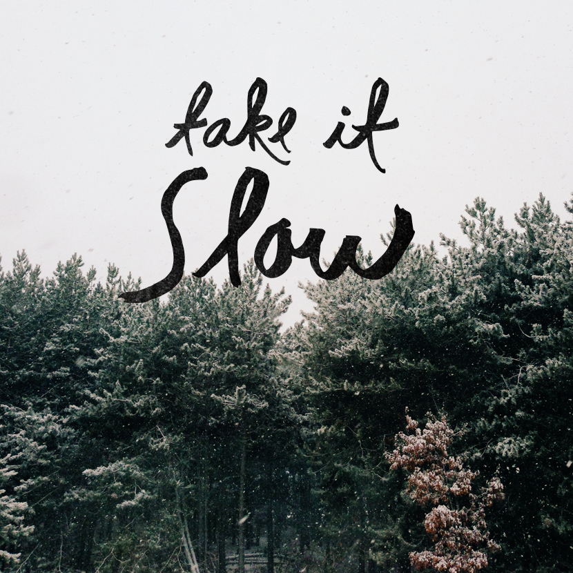 Take it Slow  |  The Fresh Exchange